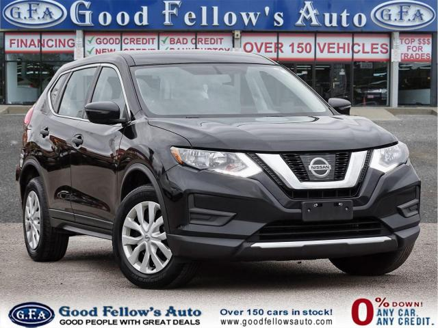 2017 Nissan Rogue S MODEL, AWD, REARVIEW CAMERA, PARKING ASSIST REAR