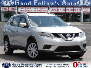 Used 2016 Nissan Rogue S 4CYL 2.5L, PARKING ASSIST REAR, REARVIEW CAMERA for sale in Toronto, ON