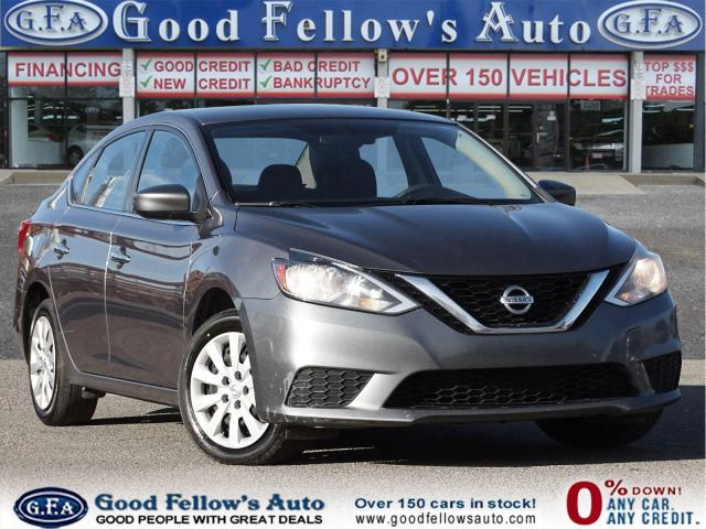 2017 Nissan Sentra SV MODEL, REARVIEW CAMERA, HEATED SEATS