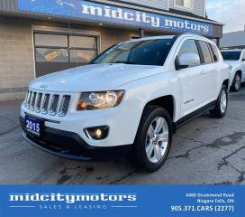 Used 2015 Jeep Compass High Altitude 4X4/ SUNROOF/ LEATHER/ CLEAN CARFAX for sale in Niagara Falls, ON