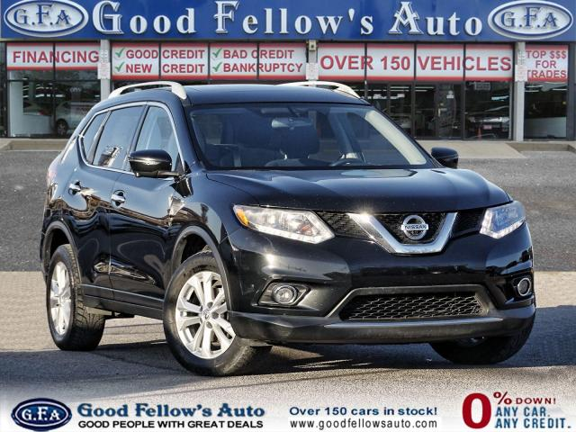 2016 Nissan Rogue SV 4CYL 2.5L,AWD, POWER SEATS, PANROOF, NAVIGATION