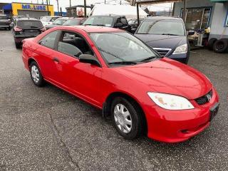 Used 2005 Honda Civic DX for sale in Vancouver, BC