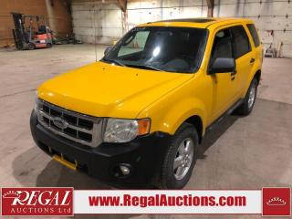 Used 2009 Ford Escape 4D Utility 4WD for sale in Calgary, AB