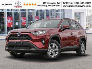 New 2021 Toyota RAV4 RAV4 Hybrid XLE AWD for sale in Pickering, ON