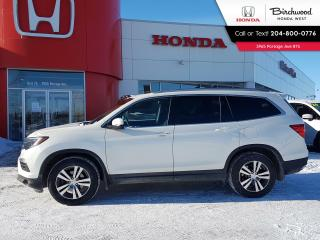 Used 2017 Honda Pilot EX 8 Seater,  Sunroof Apple CarPlay - Android Auto - Local - One Owner for sale in Winnipeg, MB