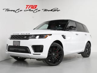 Used 2018 Land Rover Range Rover Sport HSE DYNAMIC I RED LEATHER I PANO I 22 IN WHEELS for sale in Vaughan, ON