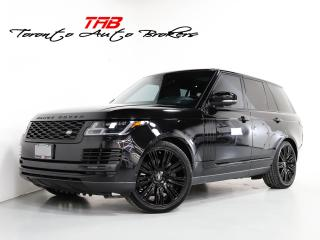 Used 2018 Land Rover Range Rover 5.0L V8 SC I FULL SIZE I NAV I 22 IN WHEELS for sale in Vaughan, ON