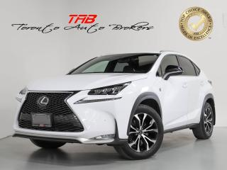 Used 2017 Lexus NX 200t F-SPORT 3 I RED LEATHER I SUNROOF I NAV for sale in Vaughan, ON