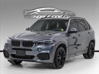 Used 2018 BMW X5 xDrive35i M Sport, Intelligent Safety, DVD Entertainment for sale in Concord, ON