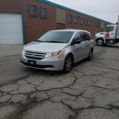 Used 2011 Honda Odyssey Power doors|DVD|EX-L w/RES|LEATHER|Winter TIres|NO Accidents for sale in Richmond Hill, ON
