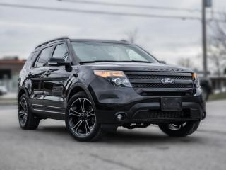 Used 2015 Ford Explorer 4WD Sport | NAV |PANOROOF I TWO SET RIMS AND TIRES for sale in North York, ON