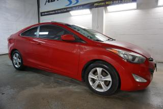 Used 2013 Hyundai Elantra GLS 6Spd COUPE CERTIFIED 2YR WARRANTY SUNROOF BLUETOOTH HEATED ALLOYS POWER OPTIONS for sale in Milton, ON