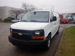 Used 2008 Chevrolet Express 2500 Cargo Van With Roof Rack for sale in Burnaby, BC
