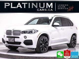 Used 2016 BMW X5 xDrive40e, HYBRID, PREM PKG, MSPORT PKG, 360, PANO for sale in Toronto, ON