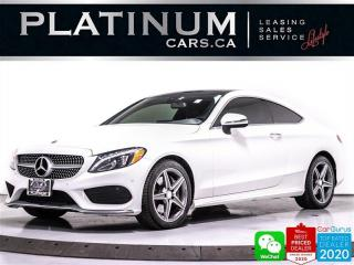 Used 2017 Mercedes-Benz C-Class C300 4MATIC COUPE, AMG, NAV, HEATED SEATS, BT, for sale in Toronto, ON