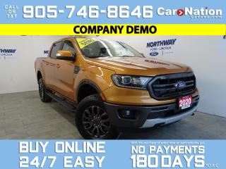 Used 2020 Ford Ranger LARIAT | 4X4 |501A|SUPERCREW| SPORT APPEARANCE PKG for sale in Brantford, ON