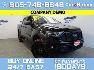 Used 2019 Ford Ranger XLT | 4X4 | SUPERCREW | 302A | BLACK APPERANCE PKG for sale in Brantford, ON