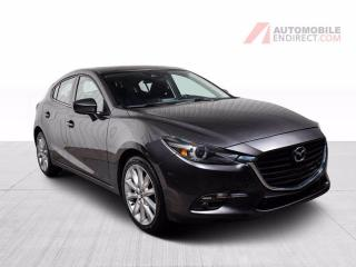 Used 2018 Mazda MAZDA3 Sport GT HATCH A/C MAGS TOIT for sale in St-Hubert, QC