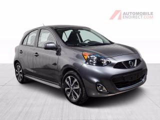 Used 2016 Nissan Micra SR A/C MAGS CAMERA DE RECUL for sale in St-Hubert, QC