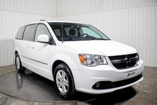 Used 2017 Dodge Grand Caravan CREW STOW N GO CUIR MAGS TV/DVD for sale in St-Hubert, QC