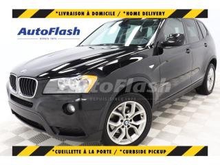 Used 2013 BMW X3 PREMIUM *CUIR-ROUGE! RED-LEATHER for sale in St-Hubert, QC