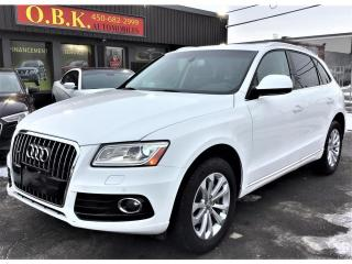 Used 2017 Audi Q5 Quattro-Progressiv-NAVIGATION-CAM RECUL-TOIT PANO for sale in Laval, QC