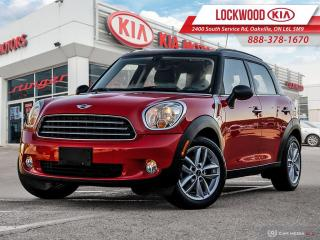 Used 2012 MINI Cooper Countryman FWD 4dr | ONE OWNER | LOW MILEAGE | 6 SPD M/T | for sale in Oakville, ON