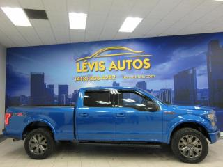 Used 2016 Ford F-150 XLT FX4 V8 5.0L COYOTE SUPERCREW BOITE 6 for sale in Lévis, QC