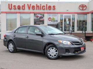 Used 2013 Toyota Corolla CE  -YES WE ARE OPEN  LOW-KMS KEYLESS for sale in North York, ON
