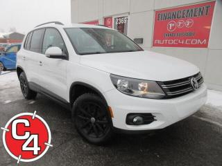 Used 2017 Volkswagen Tiguan TSI 2.0 TURBO CAM RECUL for sale in St-Jérôme, QC