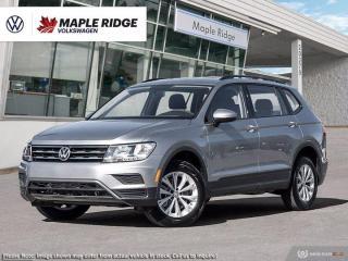 New 2021 Volkswagen Tiguan Trendline for sale in Maple Ridge, BC