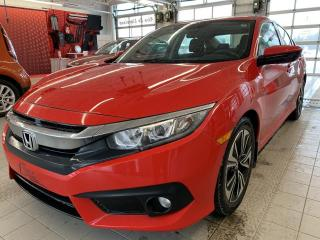 Used 2017 Honda Civic *EX-T*TURBO*CAMÉRA*TOIT*BLUETOOTH*A/C* for sale in Québec, QC