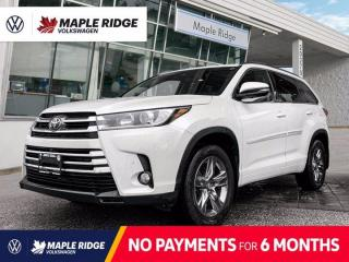 Used 2017 Toyota Highlander LIMITED  for sale in Maple Ridge, BC