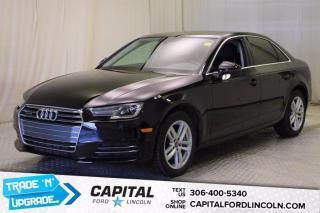 Used 2017 Audi A4 Komfort **New Arrival** for sale in Regina, SK