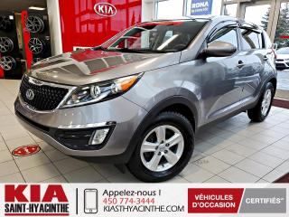 Used 2016 Kia Sportage LX ** SIÈGES CHAUFFANTS / BLUETOOTH for sale in St-Hyacinthe, QC