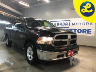 Used 2014 RAM 1500 SXT QUAD CAB 4X4 Hemi * Tonneau Cover * Weather Tech Floor Mats * 6 Passenger * Cruise Control * Steering Wheel Controls * Keyless Entry * AM/FM/SXM/U for sale in Cambridge, ON