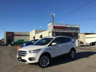 Used 2017 Ford Escape 2.99% Financing - TITANIUM 4WD - NAVI - PANO ROOF - LEATHER for sale in Oakville, ON