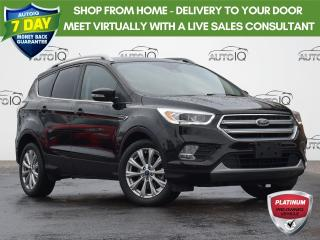 Used 2017 Ford Escape Titanium TITANIUM | HEATED & POWER DRIVER & PASS. SEATS | AWD | PANORAMIC ROOF |  LEATHER | ONE OWNER | DEALE for sale in Waterloo, ON