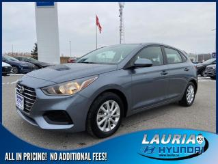 Used 2020 Hyundai Accent Preferred Auto - Apple Carplay / Android Auto for sale in Port Hope, ON