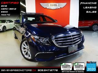 Used 2018 Mercedes-Benz E-Class for sale in Oakville, ON