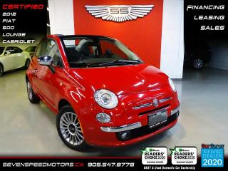 Used 2012 Fiat 500 CABRIOLET | LOUNGE | CERTIFIED | FINANCE | 9055478778 for sale in Oakville, ON