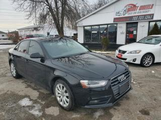 Used 2013 Audi A4 2.0T QUATTRO PREMIUM for sale in Barrie, ON