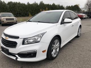 Used 2015 Chevrolet Cruze LTZ RS for sale in Ottawa, ON