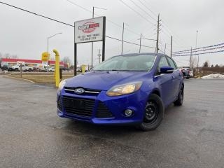 Used 2013 Ford Focus Titanium | Fully Loaded | Comes With Original Rims for sale in London, ON