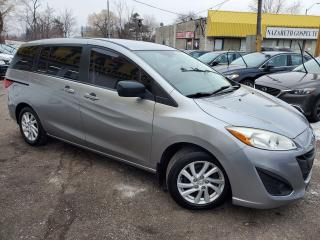 Used 2012 Mazda MAZDA5 GS/BLUETOOTH/6PASSENGER/LOADED/ALLOYWHEELS for sale in Scarborough, ON