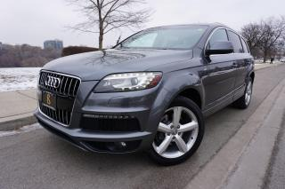 Used 2012 Audi Q7 1 OWNER / S-LINE / NO ACCIDENTS / STUNNING SHAPE for sale in Etobicoke, ON