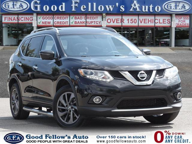 2016 Nissan Rogue SL AWD, NAVI, 360° CAMERA, LEATHER & HEATED SEATS