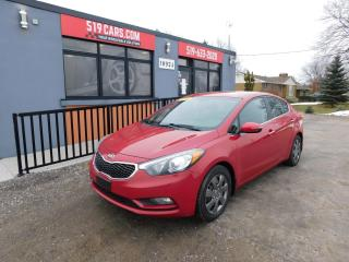 Used 2014 Kia Forte EX|BACKUP CAMERA|BLUETOOTH|USB/AUX for sale in St. Thomas, ON