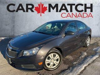 Used 2014 Chevrolet Cruze 2LS / AUTO / AC / 81,253KM for sale in Cambridge, ON