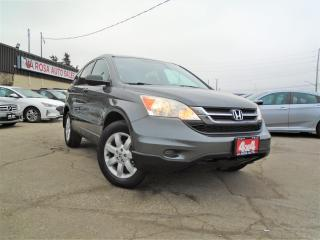 Used 2011 Honda CR-V 4WD AUTO LOW KM NO ACCIDENT 1OWNER SAFETY ALLOY PW for sale in Oakville, ON